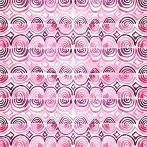 rhodonite rose shells