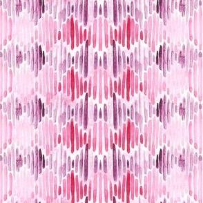 rhodonite rose diamond stripes