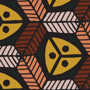 Bold Africa-inspired Seeds & Leaves