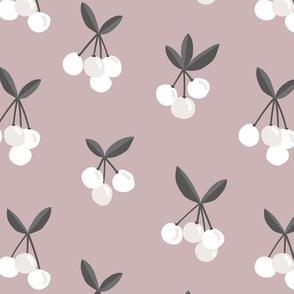 Little Cherry love garden for spring summer nursery design neutral mauve