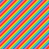 tiny rainbow stripes 2 diagonal