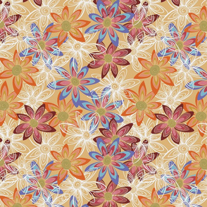 Spiral Animal repeats for Spoonflower-05
