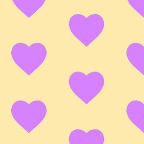 Lemonade & Lavender Hearts
