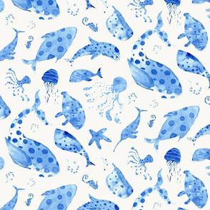 Underwater Symphony BLUE