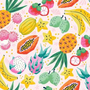 tropical fruit/large