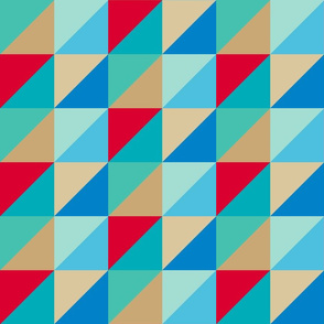 3 inch square and triangle 8 color 2