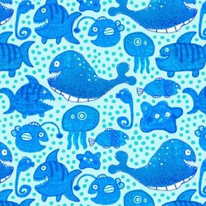 A 6-Year-Old's Sea Creatures