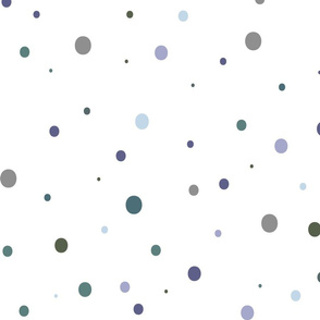 Nordic Snow_Mini Dot Pattern