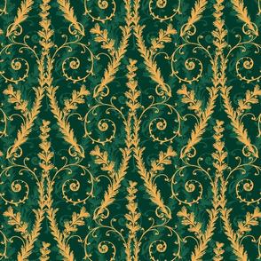 Good Tidings- Scroll Green