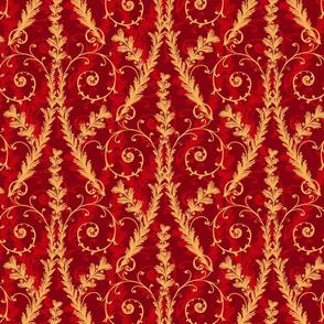 Good Tidings- Scroll Red