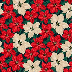 Good Tidings- Poinsettia