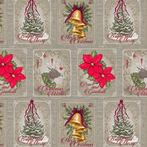 Holiday Greetings- Patchwork