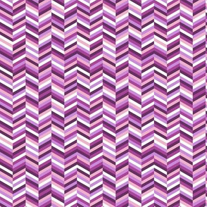Change of Heart* (Vesuvius) || chevron stripes arrows zigzag herringbone pastel purple
