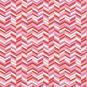 Change of Heart* (Pink Liza) || chevron stripes arrows zigzag herringbone pastel pink