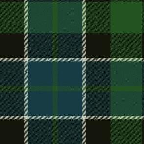 "Graham of Montrose tartan #2, 10"" dark"