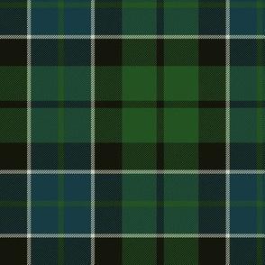 "Graham of Montrose tartan #2, 6"" dark"