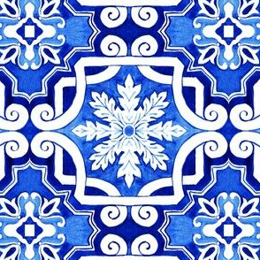 Azulejos Tlie Traditional