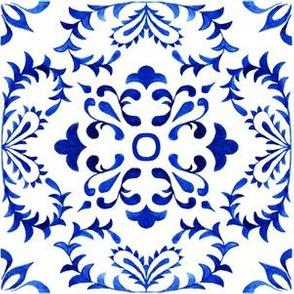 Azulejos Tlie Damask 1