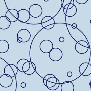 Bubbles - Blue