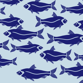 Fishes - Blue