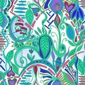 joyful botanical abundance wild colors 1 (white background)