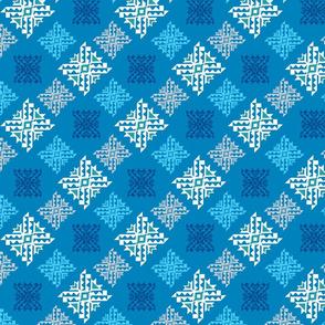 Happy Holidays- Geo Snowflake