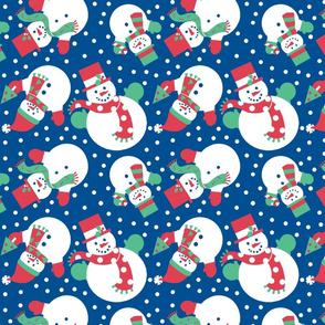 Happy Holidays- Snowman Toss