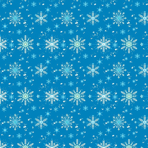 Happy Holidays- Snowflakes