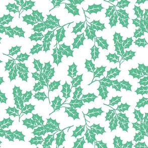 Happy Holidays- Leaf Toss