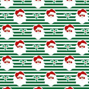 Nostalgic Christmas- Santa Stripe