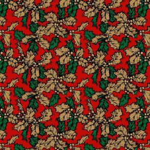 Nostalgic Christmas- Evergreen Leaves