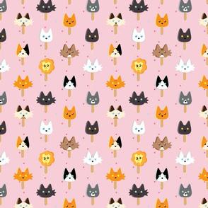 Ice Cream  Popsicle  Cats