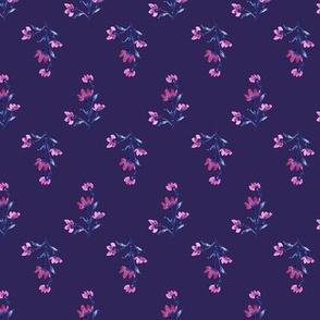 Giacinta Spring Floral - Purple