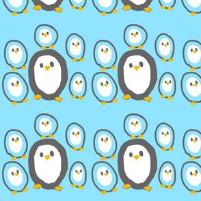 Black & Blue Penguins