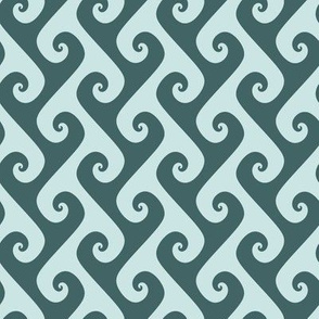 pine and mint tendrils