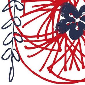 Kabuki FanFan -  Wheels of Red Fans