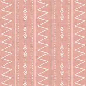 Dusty rose abstract bohemian