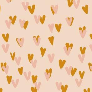 Brushy Hearts Amber Powder