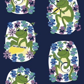 Musical Frogs