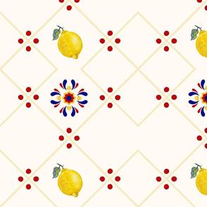 Lemon Kitchen Pattern