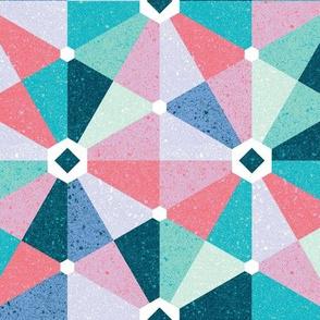 playful hexagons - mod