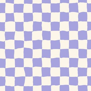 Roller Rink Checkerboard - Lilac
