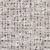 mid century greige tweedy texture