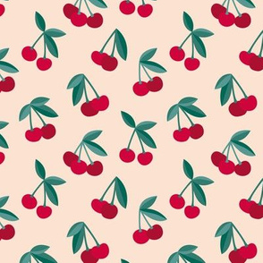 Little Cherry love garden for spring summer nursery design neutral sand creme maroon red aubergine