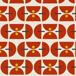 Geometric Martini Mod Ruby
