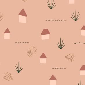 Tiny Houses - Sandy colors