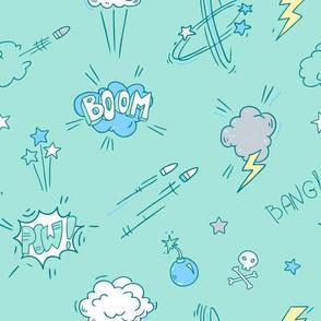 Colorful Boom Print 2!