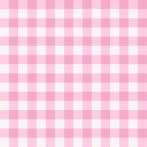 Pretty pink plaid