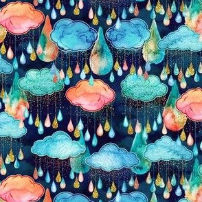 Glitter Rain Clouds Reduced