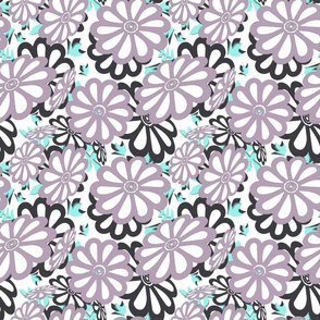 daisies cutouts2 sm dusty lilac black